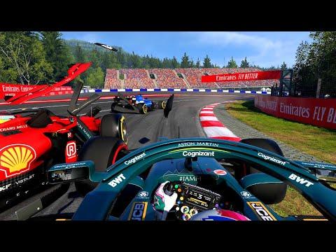 F1 2021: Fahren bis die Reifen PLATZEN!