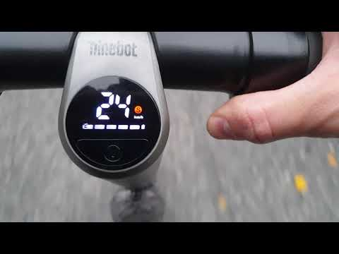 Speed Test After Solving Headlight Problem On Ninebot ES4