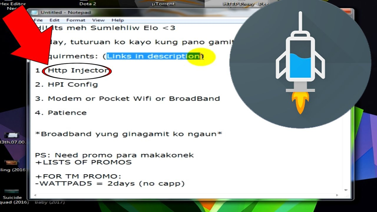 How To Use Http Injector For Pc Laptop Free Internet Youtube