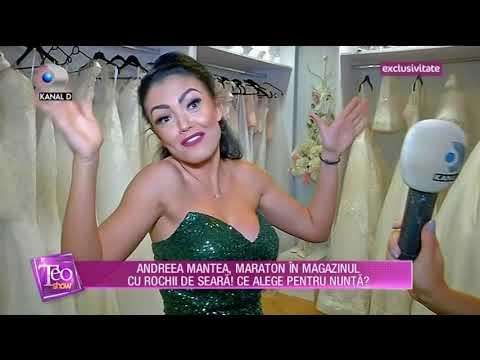 o selecție uriașă de ofera reduceri potrivire clasică Teo Show (28.09.2017) - Andreea Mantea isi alege rochii pentru ...