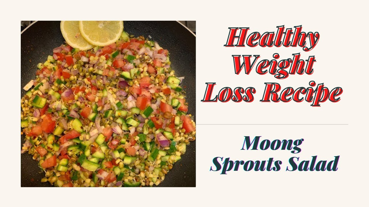 Weight Loss Recipe/ Sprout Chaat/Green Moong Chaat/Lose Weight 2-3Kg In 15 Days #shorts