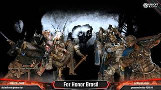 For Honor Brasil Live com os Gods do Competitivo