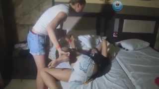 Пяные русские девочки на отдихе в Египте Жесть