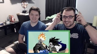 GHOST RIDER VS LOBO | DEATH BATTLE REACTION