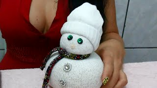 Baixar peso de porta boneco de neve