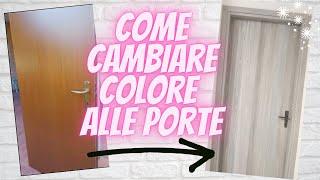 Come dipingere e rinnovare le vecchie porte, ti sembrerà di vivere in una nuova casa!