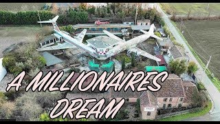 Most Incredible find! Planes and helicopter at Abandoned Millionaires property