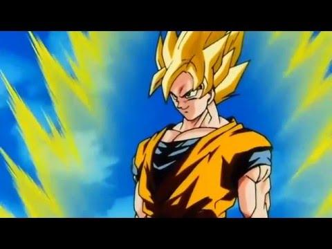 Goku Goes Super Saiyan 3 Remastered HD 1080p 1