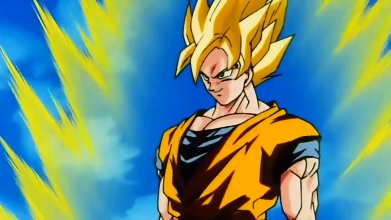 goku goes super saiyan 3 remastered hd 1080p 1 youtube