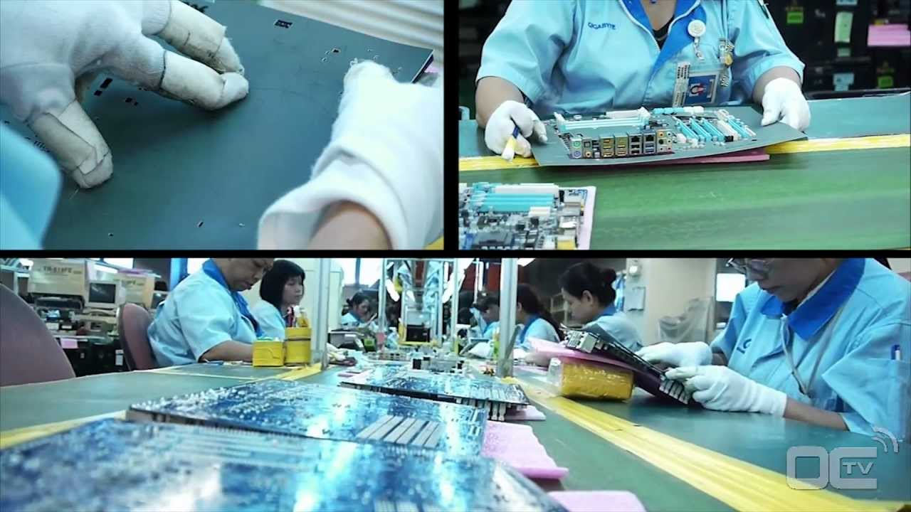 How to make a motherboard - a GIGABYTE Factory Tour - Remastered