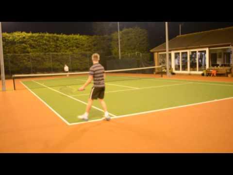 James Needs tennis video 3