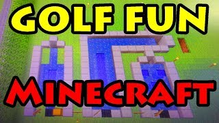 GOLF FUN BUILD - Lovely World [45] Minecraft
