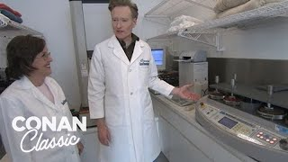 "Conan Visits The ""Good Housekeeping"" Laboratory - ""Late Night With Conan O'Brien"""