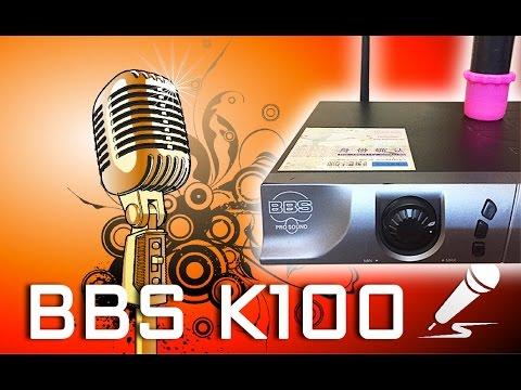 Micro karaoke không dây BBS K100