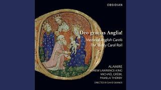 """Agincourt Carol, """"Deo Gracias Anglia"""" [English, 15th Century]"""