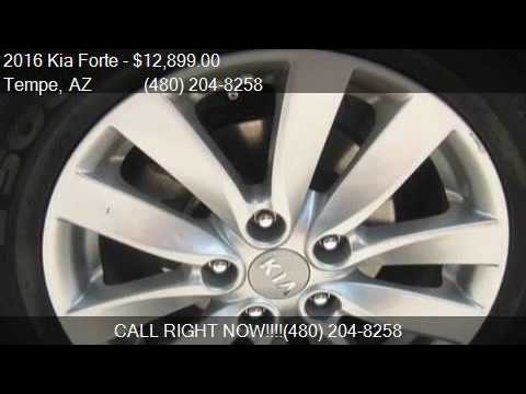 2016 Kia Forte LX 4dr Sedan 6A for sale in Tempe, AZ 85281 a