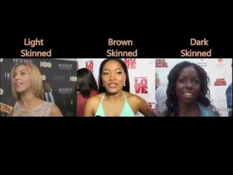 Skin Tone Skin Color Spectrum in the Black Community