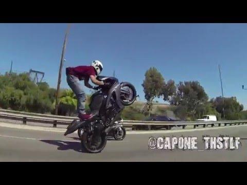 Capone Birthday Stunt Ride 2015