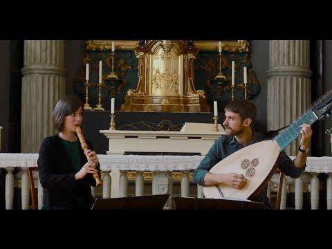 Isabel Favilla, Giulio Quirici - Allegro in C Major - J.S. Bach - BWV 1033