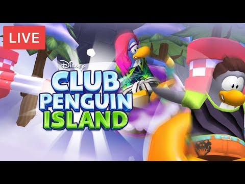 Sled Racing W/ Friends! | Chill Stream | Club Penguin Island