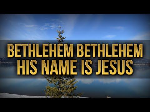 Bethlehem Bethlehem,  His Name Is Jesus - New Christmas Song   | AnimatedFaith.com