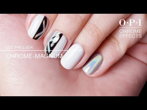 "GelColor Nail Art Tutorial: ""Chrome-Magnum"" | Chrome Effects thumbnail"