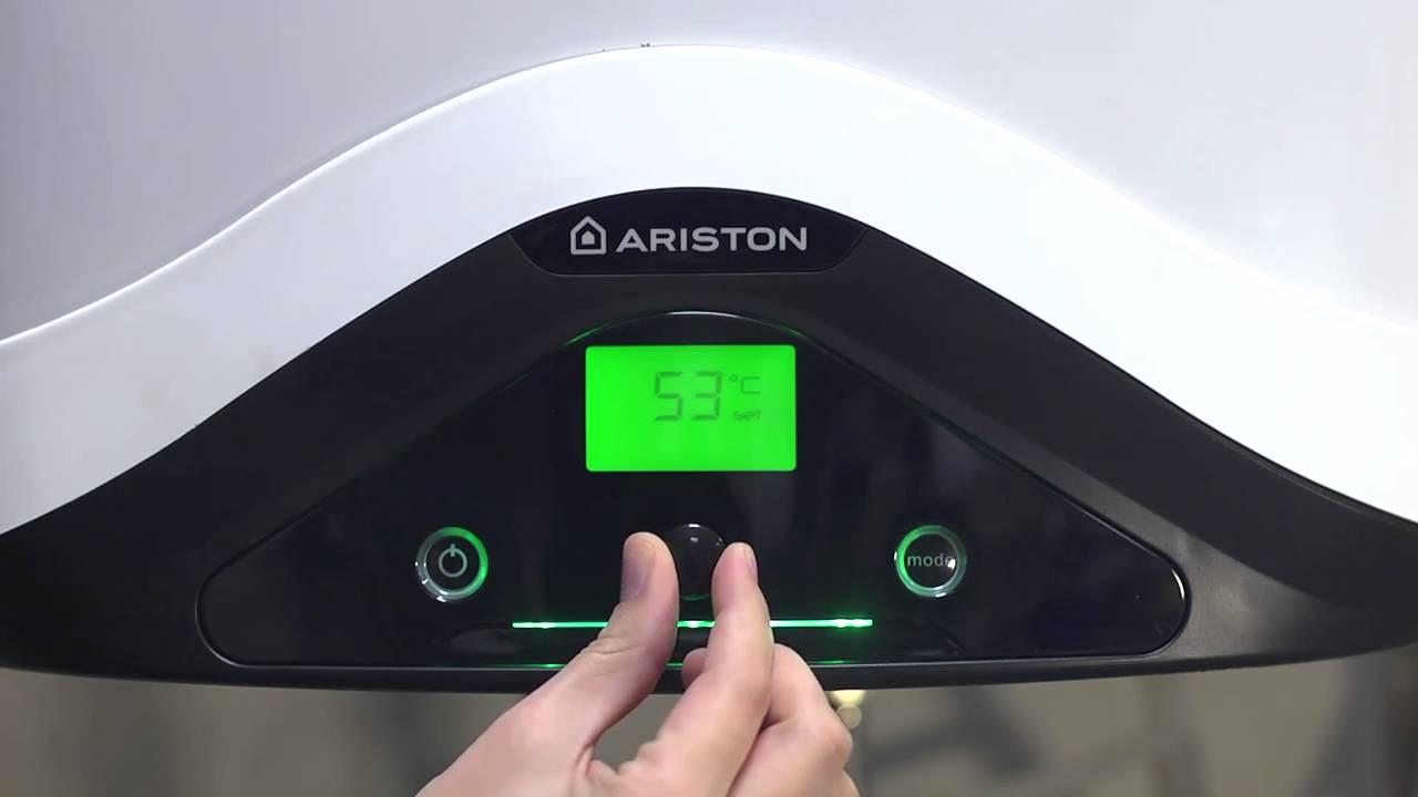 Nuos evo installation and set up ariston youtube for Ariston nuos evo