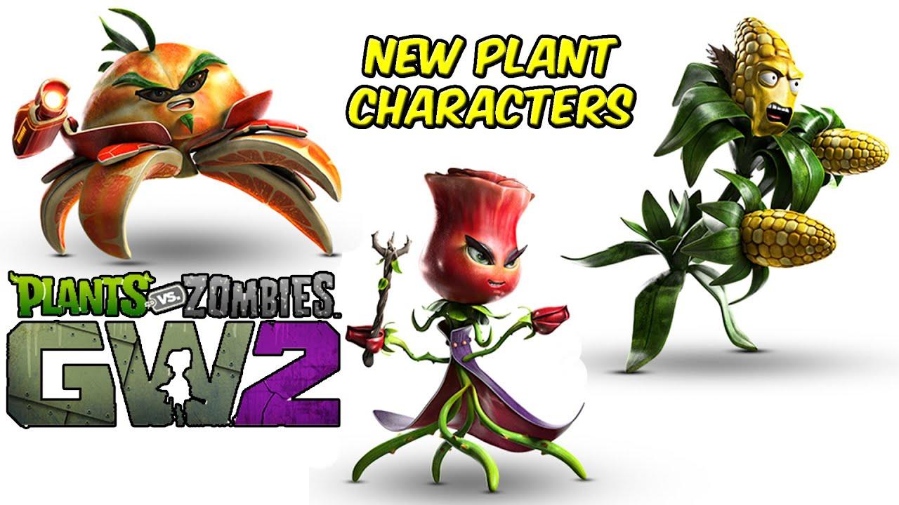 Plants Vs Zombies Garden Warfare 2 Character Reveal New Plants E3 2015 Youtube