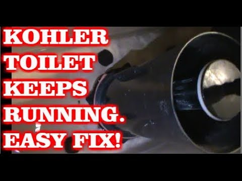 Kohler Toilet Keeps Running Water Easy Fix You