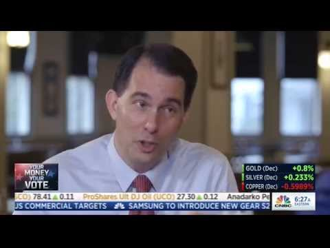 Scott Walker denies being a career politician