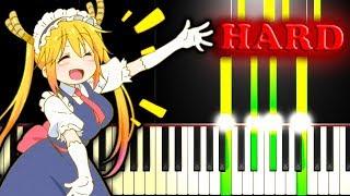 MISS KOBAYASHI'S DRAGON MAID OP - AOZORA NO RHAPSODY - Piano Tutorial thumbnail