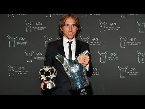 LUKA MODRIC WINS UEFA BEST PLAYER??! REAL MADRID SWEPT THE 2018 UCL AWARDS!!