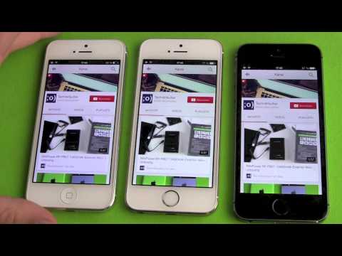 Apple iphone 5s space gray vs silver