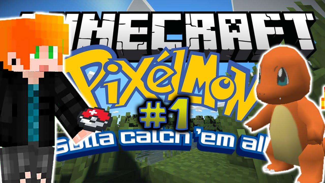Playthrough minecraft pixelmon i choose you - Pixelmon ep 1 charmander ...