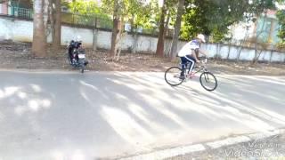 Buổi tập (4) Nguyễn Văn Bằng (Fixed Gear Hoà Long)(keospin - wheelie) Xã Hòa Long, Thành Phố Bà Rịa