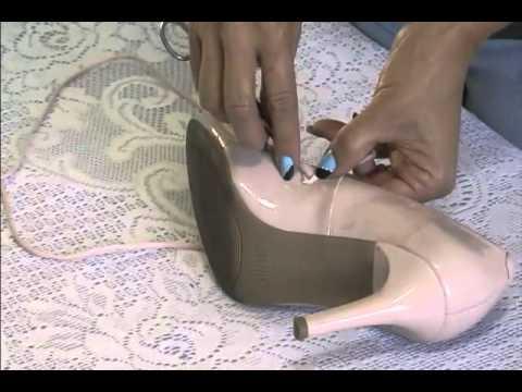 9fa325c92d Customização de sapatos que saem dos pés - Aula 02(Customline) - YouTube