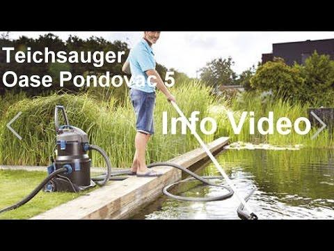 Teichsauger Oase Pondovac 5 Schlammsauger Poolsauger