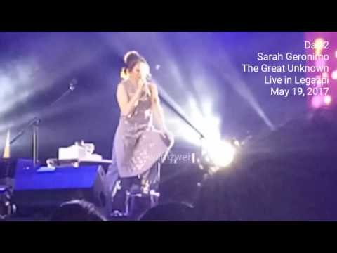 Sarah Geronimo The Great Unknown Concert in Albay