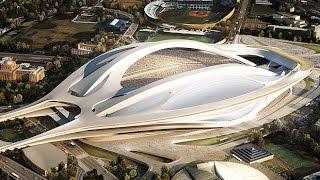 Tokyo's new National Stadium: A Facelift by Zaha Hadid