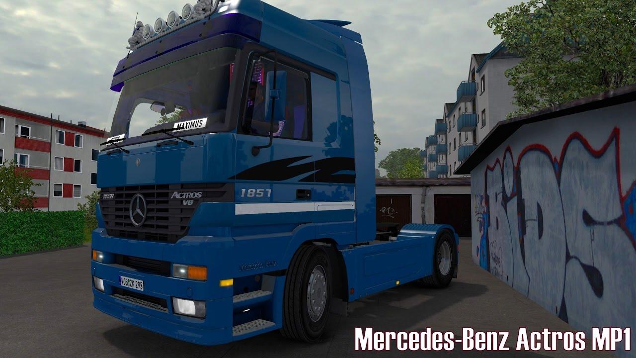 ETS2 v1.26 ☆ Mercedes-Benz Actros MP1 ☆ Mod Vorstellung [Deutsch