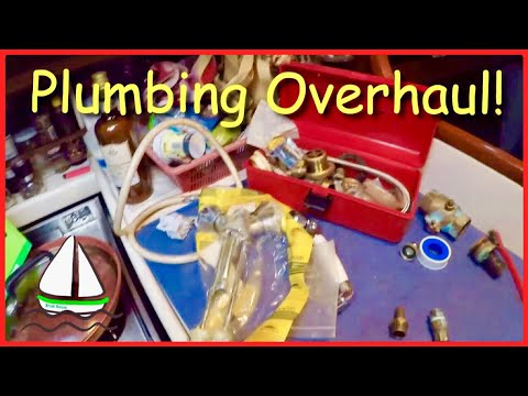 How to Repair OLD Sailboat Plumbing in a Foreign Port! Patrick Childress Sailing #27