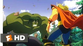 Hulk Vs. (2009) - Puny God Scene (3/5) | Movieclips