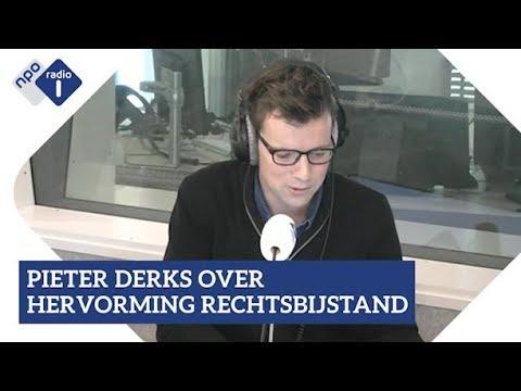 Pieter Derks over hervorming rechtsbijstand   NPO Radio 1