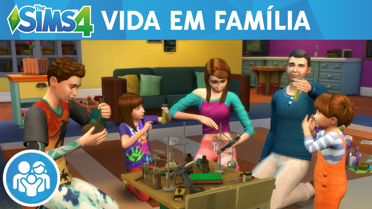 Resultado de imagem para the sims 4 vida em familia
