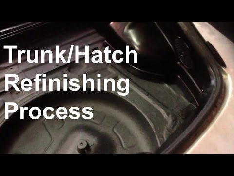 Trunk/Hatch Refinishing Process (How-to/DIY)