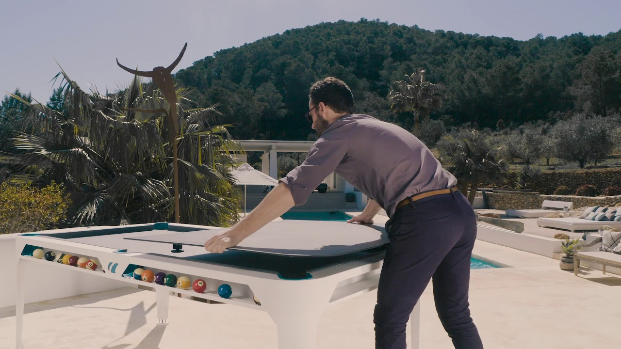 Montage table de ping-pong Cornilleau 7 M Crossover outdoor by