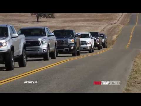 Pick Up Truck Of The Year Fuel Economy Drive