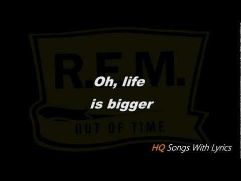 R.E.M.-Losing My Religion (With Lyrics) HQ