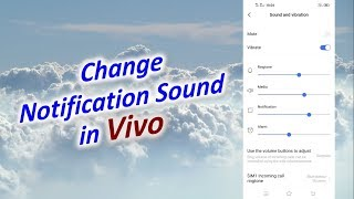 How to Change Notification Sound in Vivo