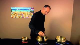 Tibetan Singing Bowl Live Studio Session 1 - 40 mins Long